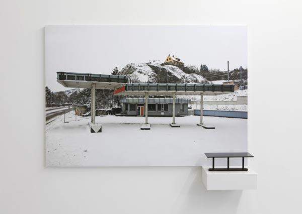 Eric Tabuchi, Abandoned Gasoline Station / Dijon