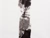 Si & No, 2014, encre de chine sur papier, 100 x 150 cm, pièce unique