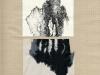 Mancha y Repeticion de Mancha, 2010, encre sur papier et collage, 32 x 24 cm, pièce unique