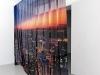Anthea Hamilton, Untitled (NY curtain), 2011, digital print on voile, 207 x 330 cm, courtesy Ibid Projects, London photo © Aurélien Mole.