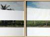Roadtrip, tirage argentique découpé, diptyque, cadre, 24 x 36 cm chaque (avec cadre), édition de 3 + 2 EA. Photo © Aurélien Mole