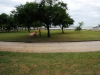 Danse de Parangolés dans les jardins du MAM, Rio de Janeiro, 2011, série de cinq photograhies, tirage en jet d'encre pigmentaire sur papier Bamboo Hahnemühle 290g, 25,5 x 17 cm chaque, édition de 5 + 2 EA