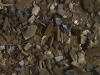 Luzia, 2018, installation, 90 kg de charbon minéral par terre, dimensions variables