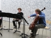 Between Words: piece for 4 instruments, 2010, performance at Site Gallery, Sheffield, UK