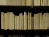 Today I turned a library of books inside out, 2008 jusqu'à présent, action / intervention dans des librairies et des bibliothèques publiques, dimensions variables