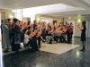 Book Concerto in One Act: for 75 Penguins, 2010, performance pour 75 exemplaires de livres Penguin, 75 personnes et 1 chef d'orchestre, réalisé au siège de la maison d'édition britannique Penguin Books, Londres
