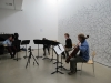 Between Words: piece for 4 instruments, 2010, performance, Site Gallery, Sheffield, Royaume-Uni