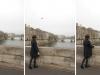 Eclat, 2014, chorégraphie pour les 33 ponts de Paris, 33 ballons rouges gonflés à l'hélium et 33 personnes portant des vêtements rouges, performance sur proposition