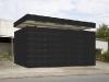 Hey Judd, 2008 Triptyque black, tirages pigmentaires encadré, 30 x 34 cm, édition de 5