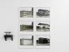 Hey Judd, 2008 Triptyque white, tirages pigmentaires encadré, 30 x 34 cm, édition de 5, vue d'exposition, Between Peaks, galerie Dohyang Lee.