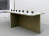 Contrat 1, 2, 3, 4, 5, 6 et 7, 2012, glazed ceramic, clay, variable size, exhibition view, Les objets qui parlent, Dohyang Lee Gallery, photo © Aurélien Mole