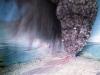 Par une pluie violente et par des pierres de grêle - Asama, 2007, impression sur papier Hahnemühle, 90 x 120 cm, édition de 3 + 1 EA