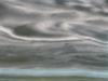 Impressions minérales - Brume 14, 2016, impression numérique jet d'encre sur papier Hahnemuhle 308 g, Dibond contrecollé sur aluminium, verre anti reflet, cadre érable laqué blanc; 67 x 92 cm, pièce unique + 1 EA