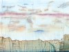 Impressions minérales - Perspective 18, 2016, impression numérique jet d'encre sur papier Hahnemuhle 308 g, Dibond contrecollé sur aluminium, verre anti re et, cadre érable laqué blanc, diptyque, 57 x 92 cm chaque, pièces uniques + 1 EA