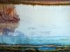 La théorie de la Terre Creuse, 2014, impression sur papier Hahnemühle, cadre chêne, verre antireflets, 110 x 220 cm, pièce unique. Collection privée