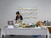 Pasta Nowadays, 2016, performance. Présenté au Marion De Cannière Art Space (Anvers, Belgique), Open Studio