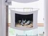 23:59:60, 2018, installation, 68 drapeaux, impression jet d'encre de photographies sur soie, mats de drapeau en fer sur mesure, dimensions 60  x 90 cm par drapeau, dimensions variables des images imprimées, dimensions 100 cm par mat, édition de 3 + 1 EA. Exposition à la Seoul Mediacity Biennale 2018 : Eu Zên, Seoul Museum of Art, Séoul, Corée du Sud