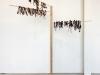 A tree, 2018 - 2020, installation, peaux de bananes séchèes. Exposition Inside the Belly of Monstro, Onsu Gong-gan, Séoul, Corée du Sud, 2020