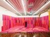 Estera, 2017, installation, papier cadeau, dimensions variables, pièce unique