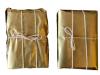 The Golden Bricks, 2015 - 2016, installation, papier doré, corde, divers matériaux, dimensions variables, pièces uniques