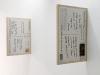 Spinning the Wheel, depuis 1999, installation, 2 x (50 x 69 cm), impressions sur contreplaqué, édition de 5. photo © : Aurélien Mole.