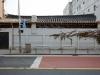 The equality of doing and not doing, 2015, néon sur le mur d'une maison traditionelle coréenne, 400 x 70 cm, pièce unique. World Script Symposia 2015 Art project, Tongui-dong, Séoul, Corée du Sud