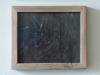 Frame, 2015, bois abimé, papier ponce, verre anti reflets 27 x 32 cm, pièce unique