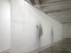 White Painting, 2012, graisse de porc sur papier, 300 x 406 cm
