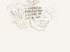 Plus de Douanier Rousseau, 2016, graphite et encre sur papier, 21 x 30 cm, pièce unique