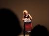 Aoïde, 2014, performance, 30'. Le Générateur, Gentilly, France. Photo © Le Générateur