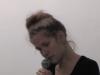 T(h)race, 2013, performance vocale, 15'. Espace Treize, Paris, France