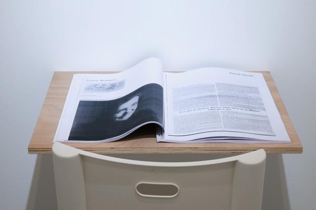 Continuous Project #4  Photocopies du premier numéro de Eau de Cologne magazine