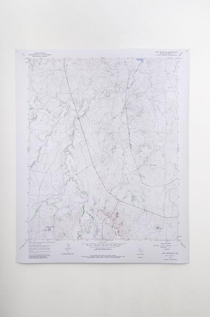 Yves-Marie Rinquin Une Histoire de Process Art, partie 3 – Wolf Mountain, 2009-2010, impression sur papier, édition