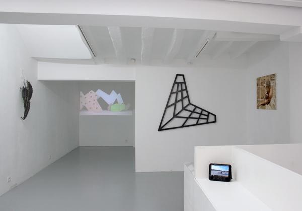 vue générale de l'exposition No Newspaper this Summer, Chloé Dugit-Gros