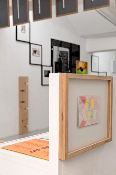 Roxane Borujerdi et Aurélien Mole, La forêt usagère, Dessin Biface, 2012, papier carbone, papier, graphite, 28,2 x 32,2 cm, pièce unique, photo © Aurélien Mole.