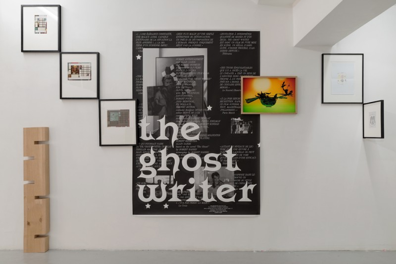 Syndicat et Aurélien Mole, La forêt usagère, Ghostwriter, 2012, impression sur papier, 120 x 178 cm, édition de 20, photo © Aurélien Mole
