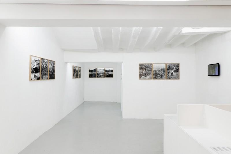 Vue de l'exposition, ESTENOPEICAS RURALES, Restitutions de la mémoire, 2015