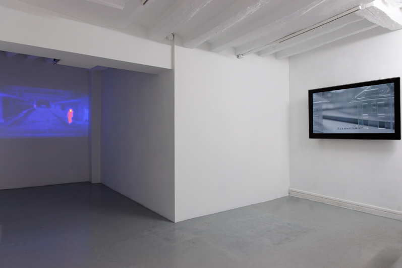 Exhibition view, La Ligne Fictive, Hayoun Kwon, Dohyang Lee gallery, photo © Aurélien Mole