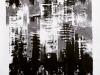 Inkjet, 2014, encre de Chine et acrylique sur papier, 150 x 190 cm, pièce unique