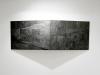 Los Efectos del Menú Filter VI, VII, vue d'installation à Drawing Now Paris, 2012, encre sur papier, bois, diptyque, 190 x 70 cm, pièces uniques