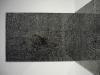 Los Efectos del Menú Filter I & II, vue d'installation Galerie de Roussan, Paris, 2011, encre sur papier, structure en bois, verre, Diptyque, 45 x 64 cm, pièces uniques