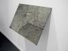 Los Efectos del Menú Filter IV, vue d'installation Galerie de Roussan, Paris, 2011, encre sur papier, structure en bois, verre, 45 x 64 cm, pièce unique