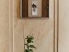 PLANORGA. Plan, Organisation, Désir et Volonté, 2011, vue d'installation Galerie APDV, Yvon Nouzille, vitrine de l'Affichage Intérieur, technique mixte, collage, 52 x 38 cm. Photo © Nicolas Durand