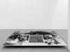 Variaciones del defecto, 2012, encre et acrylique sur papier, 132 x 181 cm, pièce unique. Photo Aurélien Mole