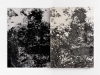 Complices de todo, 2012, diptyque, encre et acrylique sur papier, 70 x 50 cm chaque, pièces uniques. Photo © Aurélien Mole