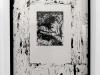 Telepatia, 2014, encre de Chine sur papier, cadre, sous verre, 65 x 45 cm, pièce unique