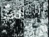 Ex Dessin 2, 2015, pastel à l'huile et encre de Chine sur papier, 150 x 105 cm, pièce unique