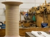 Cuillère, 2015, cuillère argent modèle Virgule de l'atelier Puiforcat, 21cm, fil argent 1mm x 15m, bobine en bois. Photos © Tadzio