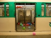 Orléans - Clignancourt, 2012, performance, centaines de ballons baudruches, série de photographies numériques, 14,15 x 21,25 cm chaque