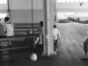 Entrenamiento (Entrainement), 2016, tirage photographique argentique noir et blanc, jet d'encre sur papier adhésif, Dibond contrecollé sur aluminium, 60 x 88 cm, édition de 5 + 2 E.A